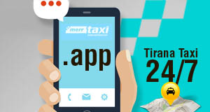Merr Taxi APP is the most simple, but yet advanced, taxi app in Tirana!