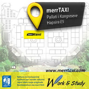 Merr Taxi Taxi Tirana at Work and Study Albania 2012